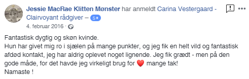 clairvoyant, Clairvoyant Rådgivning