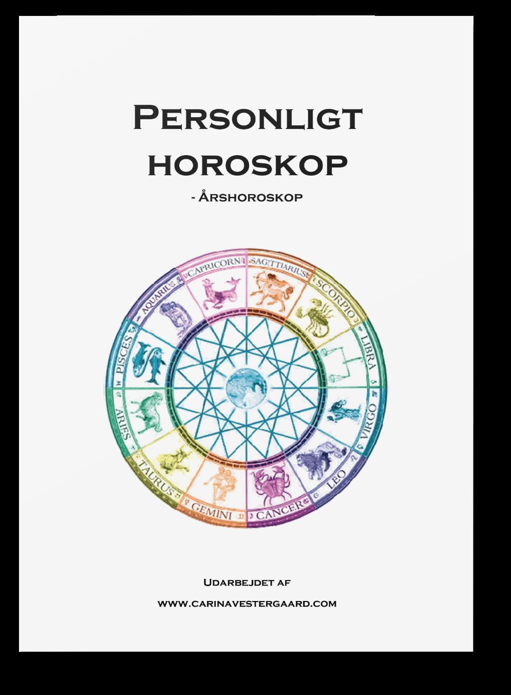 personligt horoskop, Personligt horoskop